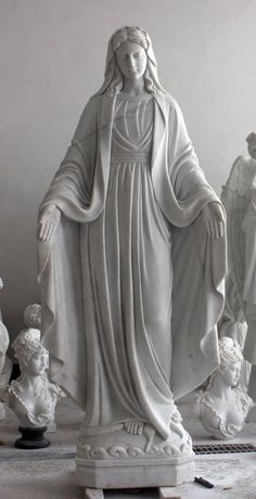 Marble 6ft Our Lady of Grace for sale 913 871 6444