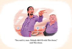 Famous movie scenes by a Pixar artist