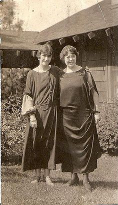c. 1920s One Older and One Younger
