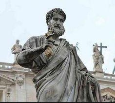 Statue of St. Peter in Vatican City.