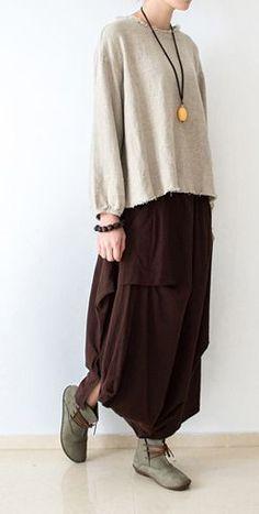16bd7939bf5 2016 fall Burgundy linen skirt plus size long maxi skirts di 2019 ...