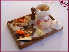 My tiny world: Dollhouse miniatures: My mother's chicken broth