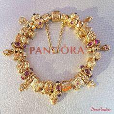 Pandora Bracelets, Pandora Jewelry, Charm Bracelets, Charm Bracelet Tattoo, Pandora Gold, Tiffany Jewelry, Pandora Story, Jewelry Collection, Jewelery