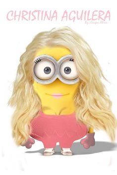Minions....normally you know I'd NOT repin this for you. but hahahahahahahahahahahahhahahhaha  this Minion looks WAY BLEEPING BETTER THAN SHE EVER DID