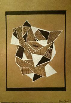 Geometric illustration by lena öberg