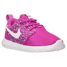 Girls\u0026#39; Toddler Nike Roshe One Print Casual Shoes - 677785 500 | Finish Line