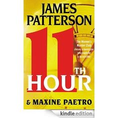 11th hour by james patterson (women's murder club)