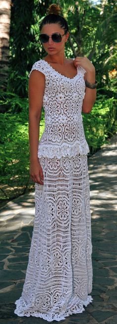 crochet dress by Balarri on Etsy