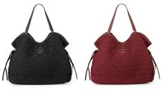 Tory Burch Quilted Slouchy Baby Bag  Shop more on shop.addresschic.com