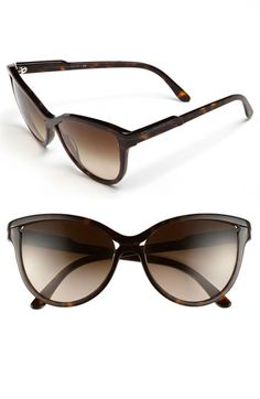 Stella McCartney 55mm Retro Sunglasses available at #Nordstrom