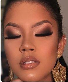 Fantastic makeup guide tips are offered on our website. Dark Skin Makeup, Nude Makeup, Flawless Makeup, Glam Makeup, Eyebrow Makeup, Gorgeous Makeup, Bridal Makeup, Wedding Makeup, Makeup Cosmetics