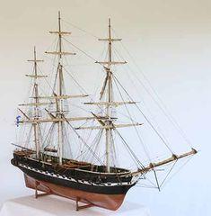 Beautiful model ships.