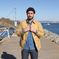 Harvest Tan Water Repellent Canvas Project Jacket | Taylor Stitch