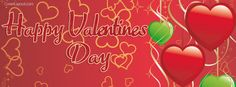 Happy Valentines Day Love Of Hearts Facebook Cover CoverLayout.com