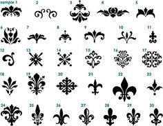 i love fleur de lis. i somehow want to put them above my bed. like painted on canvas or something...