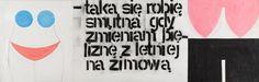 Paweł Susid, bez tytułu [taka się robię smutna, gdy zmieniam bieliznę z letniej na zimową], 1999, Kolekcja MOCAK-u