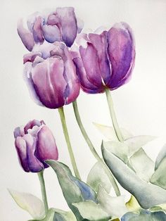 Original Floral Painting by Kerry Milligan Watercolor Landscape, Abstract Watercolor, Watercolor Illustration, Watercolor Flowers, Simple Watercolor, Tattoo Watercolor, Watercolor Animals, Watercolor Background, Watercolor Artists