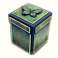 magic boxes: Magic Box - Mica Butterflies