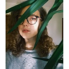 #me #girl #plants #green #haircuts