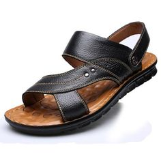 Men's Fashion Leather Sandal