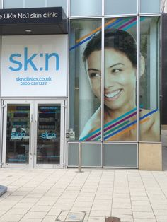 elaborate digitally printed, double sided glass graphics that can be viewed from both inside and out!