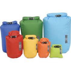 Exped Drybag: 1 xs 2 small 1 medium