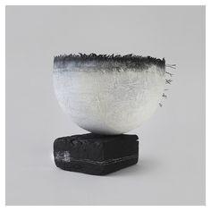Gizella K Warburton - Ritual Form VI [textile, mixed media, oak]