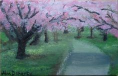 "Saatchi Art Artist ALAN DOHERTY; Painting, ""SPRING"" #art"