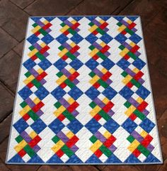 Let's Play Baby Quilt | Craftsy