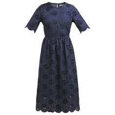 Navy Blue dress Mint & Berry