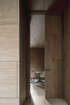 Sliding Door Design, Ground Floor Plan, Marble Wall, Interior Garden, Small Office, Travertine, Residential Architecture, Design Firms, Home And Family