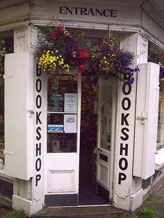 Storefront- HAY ON WYE BOOKSHOP....charming