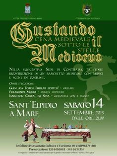 Rivive il Medioevo in una serata unica ed emozionante. A Sant'Elpidio a Mare - Sipario - informazione.tv - notizie dal fermano