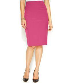 Alfani Classic Pencil Skirt - Skirts - Women - Macy's