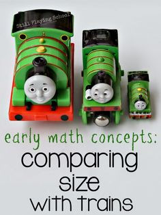 Still Playing School: Matching, Sorting, and Comparing Size with Trains