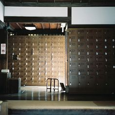 SENTO  下駄箱 by soreikea, via Flickr