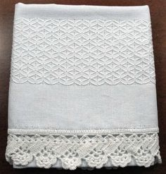 Embroidery Monogram, White Embroidery, Embroidery Patterns, Hand Embroidery, Swedish Weaving Patterns, Hanging Towels, Hardanger Embroidery, Needlework, Diy And Crafts