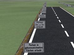 Zusatzzeichen Set 5 (parken und Wenden). Ab #EEP8 http://j.mp/Zusatzzeichen-Set5