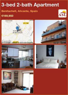3-bed 2-bath Apartment in Benitachell, Alicante, Spain ►€169,950 #PropertyForSaleInSpain