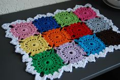 handmade crocheted placemat by Studio SOIL, via Flickr