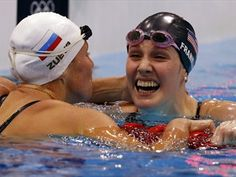 Missy Franklin is 17. She won five medals, four golds, sweeping both the 100 and 200 backstroke events