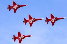 Patrouille Suisse Luftwaffe, Swiss Air, Military Jets, Air Show, Armed Forces, Alps, Switzerland, Planes, Air Force