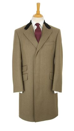 Covert coat for men - a true English classic Camel Coat Outfit, Tailored Suits, Sharp Dressed Man, Men Looks, Mens Fashion, Fashion Trends, Men Dress, Menswear, Clothes