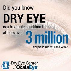 Discover your treatment options: http://www.ocalaeye.com/dry-eye-ocala.htm #fyEYE