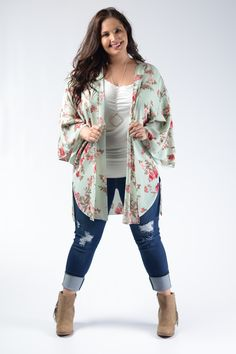 67b7e051e6f74 Ivory Solid Banded Top Great with Cardigans   Printed Bottoms 95% Rayon 5%  Spandex