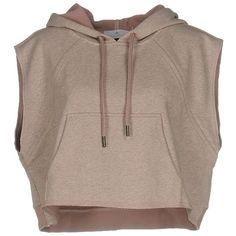 Designer Clothes, Shoes & Bags for Women Round Collar Shirt, Collar Shirts, Brown Shirts, Pocket Shirts, Sleeveless Tops, Brown Brown, Adidas Shirt, Stella Mccartney Adidas, Hoodies