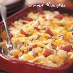 Twice-Baked Potato Casserole Recipes Recipes! Delicious Recipes! Yum Recipes! Quick Recipes