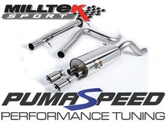 Milltek Non resonated Race Version Sports Exhaust System. A New R...