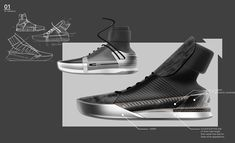 Basketball shoe design that blurs the line between court and street Basketball Shoes, Designer Shoes, High Top Sneakers, Concept, Behance, Street, Image, Walkway