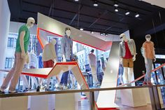 The new display at Oxford Street's Topshop and Topman by Studio XAG